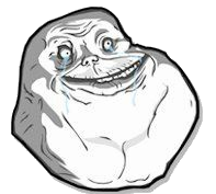 Meme Forever Alone PNG by AgustiFran PlusPng.com  - Forever Alone PNG