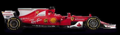 2, Sebastian Vettel VET, GER, Ferrari PlusPng.com  - Formula1 HD PNG