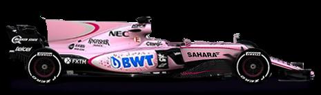 . PlusPng.com Force India, Force India car - Formula1 HD PNG