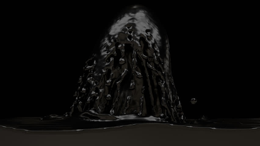 Animated Fountain Of Black Paint Or Oil. Transparent Background (Alpha  Channel Embedded With HD PNG File) Stock Footage Video 10288331 |  Shutterstock - Fountain PNG HD