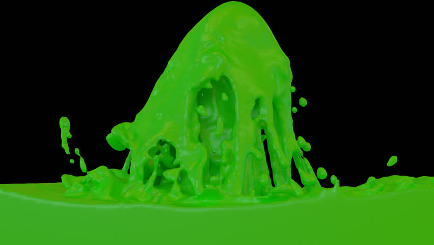 Animated Fountain Of Green Paint. Transparent Background (Alpha Channel  Embedded With HD PNG File) Stock Footage Video 8896861 | Shutterstock - Fountain PNG HD