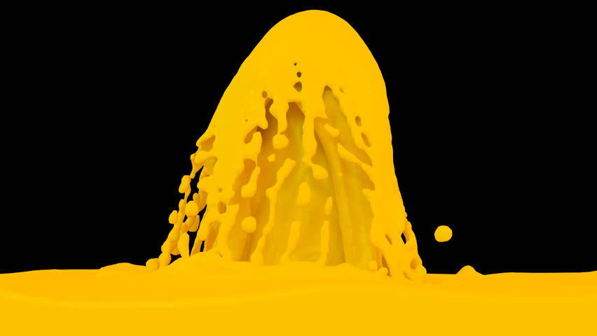 Animated Fountain Of Orange Paint. Transparent Background (Alpha Channel  Embedded With HD PNG File) Stock Footage Video 8896756 | Shutterstock - Fountain PNG HD