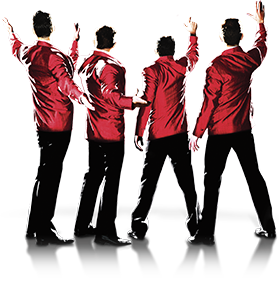 Home · Tour Dates · About - Four Boys PNG