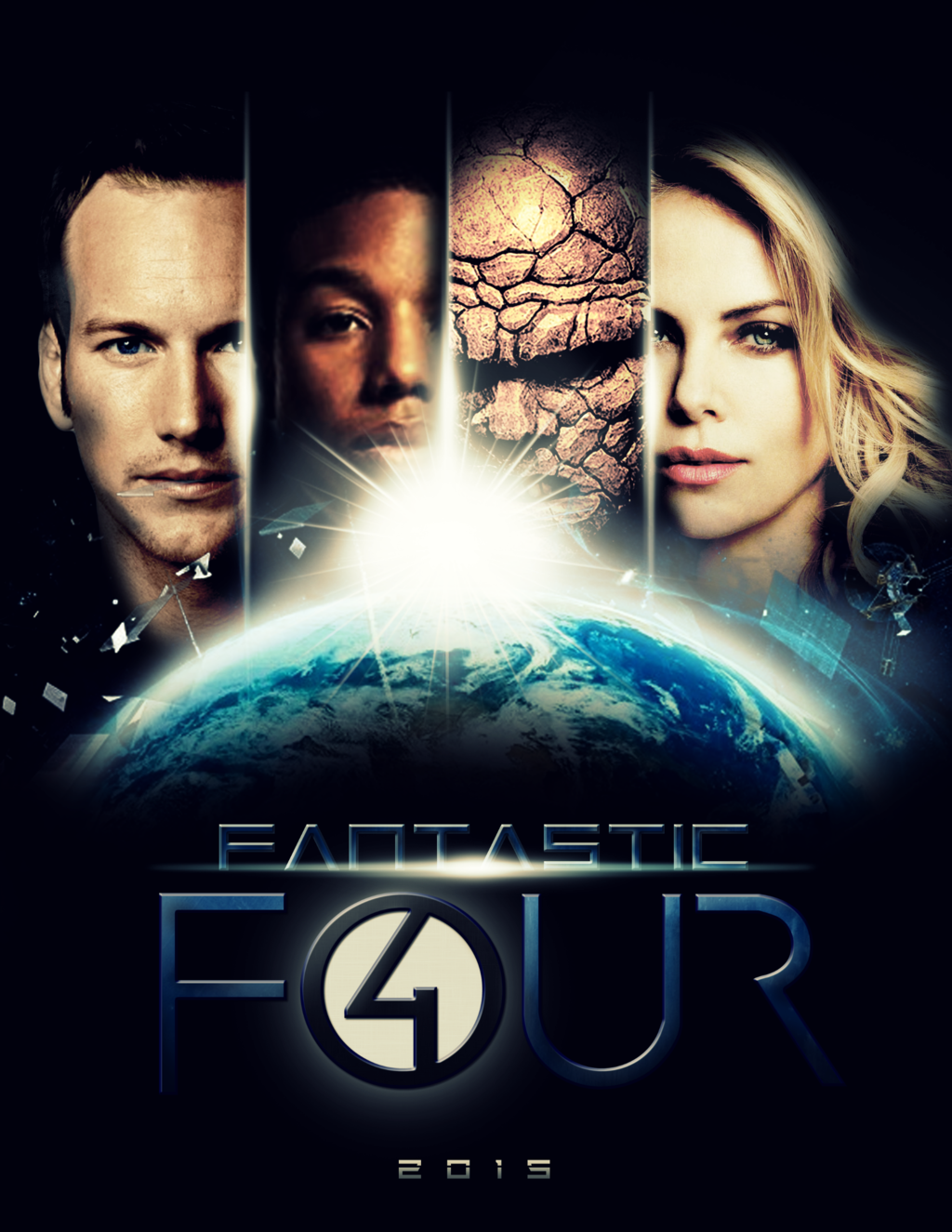 Download Full HD Movie Free: Fantastic Four (2015) - Four HD PNG