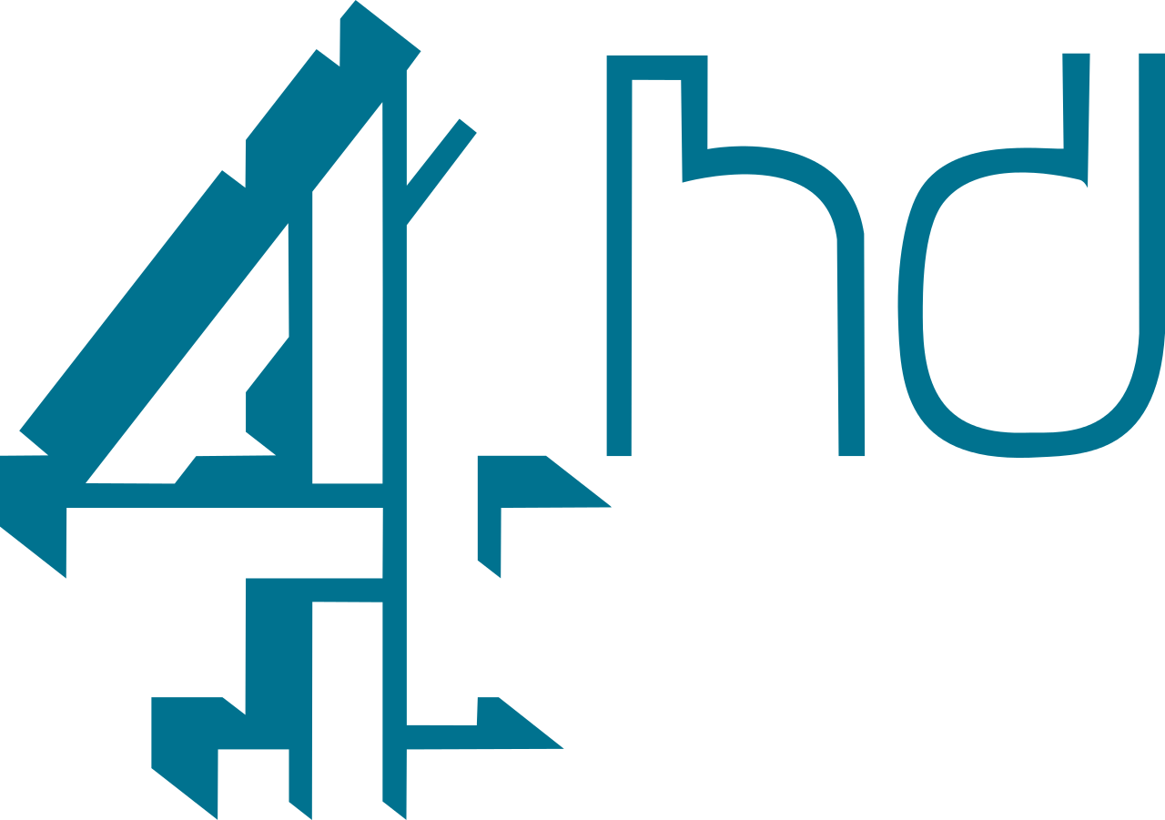 File:Channel 4HD Logo.svg - Four HD PNG