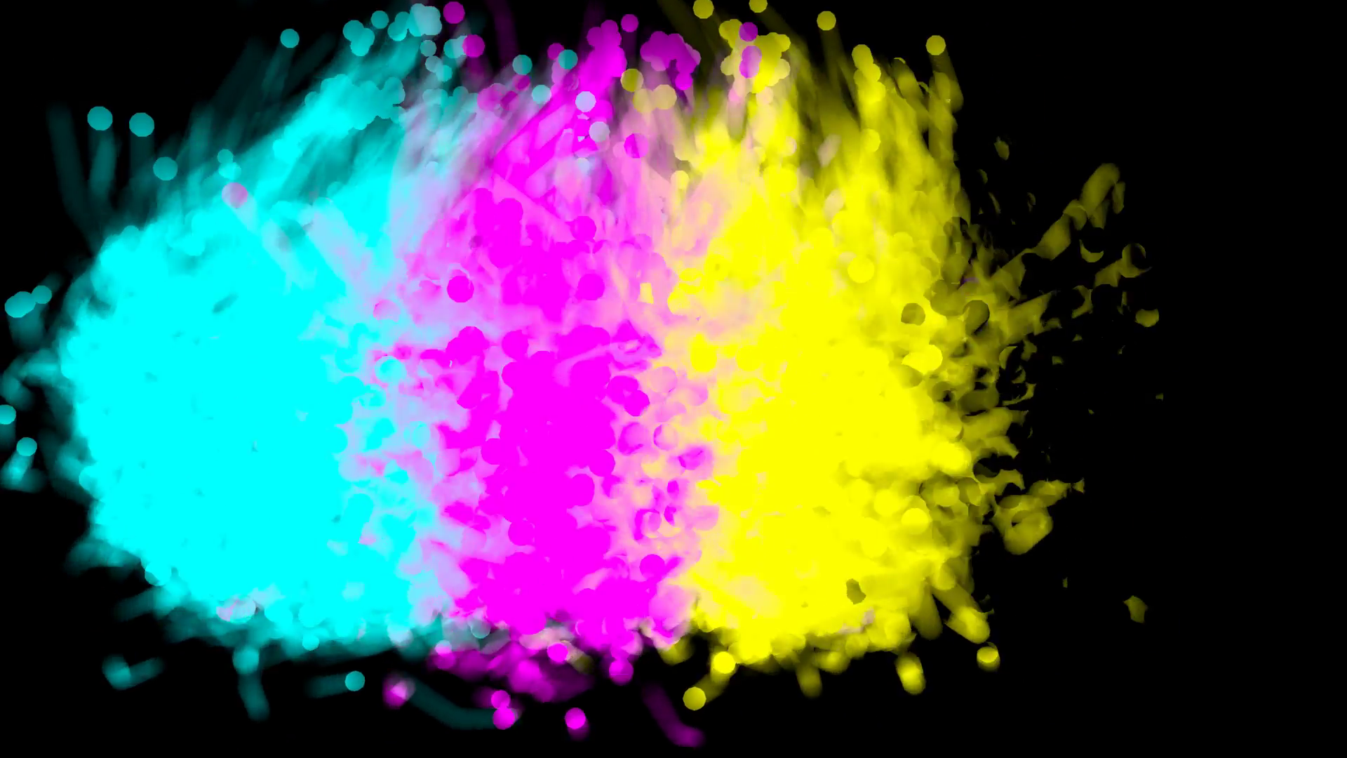This is a fountain, smoke or fire of four cmyk colors cyan, magenta, - Four HD PNG