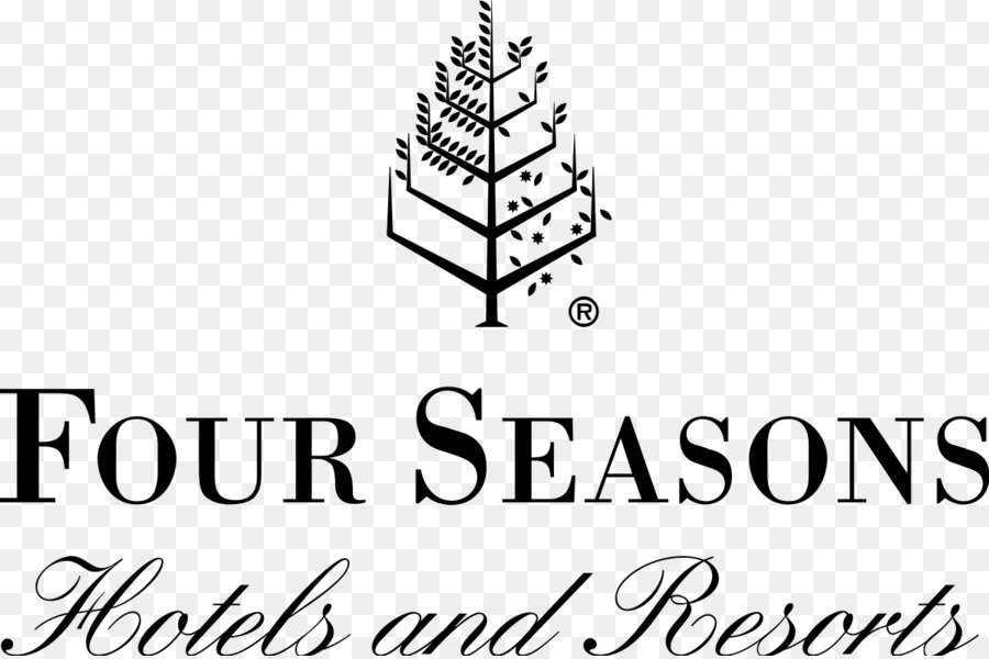Four Seasons PNG Black And White