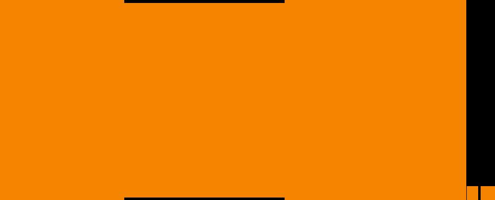 Fox logo orange.png - Fox Logo PNG