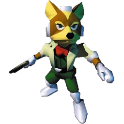 Fox Star Fox 64.png - Star Fox PNG