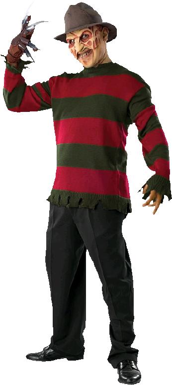 A Nightmare on Elm Street - Freddy Krueger Deluxe Adult Sweater - Freddy Krueger PNG