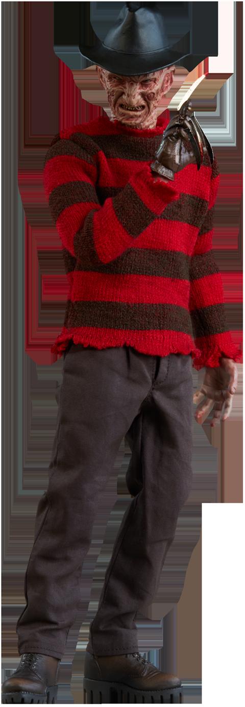 Freddy Krueger Sixth Scale Figure - Freddy Krueger PNG