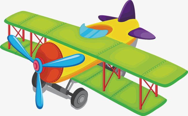 Free Airplane PNG For Kids - 160104