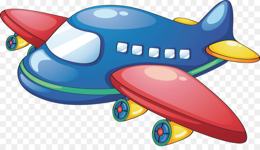 Free Airplane PNG For Kids - 160098