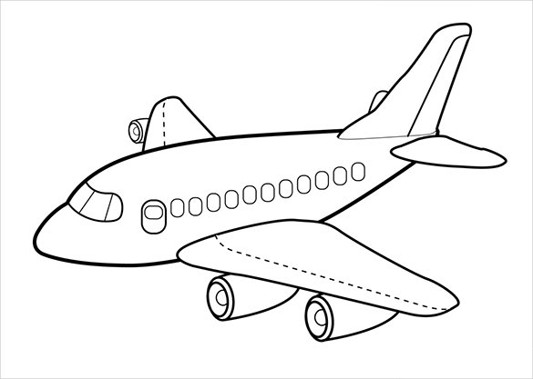 Free Airplane PNG For Kids - 160100