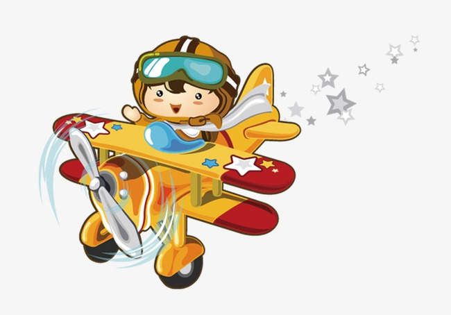 Free Airplane PNG For Kids - 160105