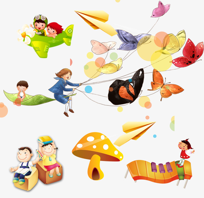 Free Airplane PNG For Kids - 160113