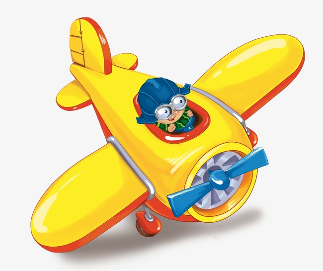 Free Airplane PNG For Kids - 160111