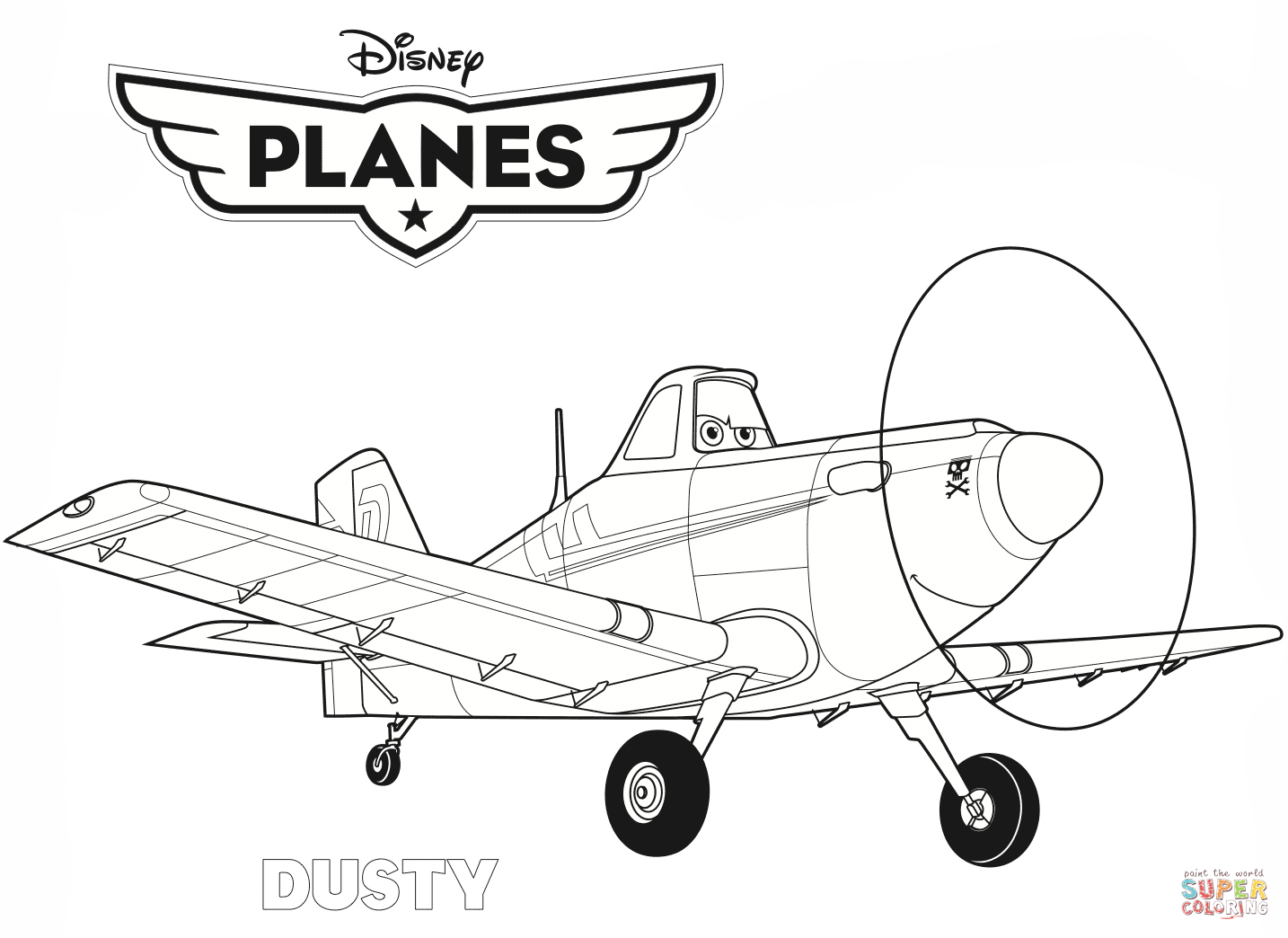 Free Airplane PNG For Kids - 160117