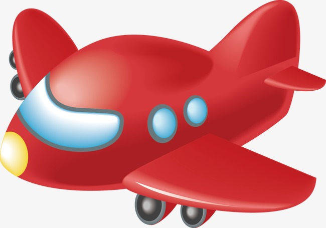 Free Airplane PNG For Kids - 160110