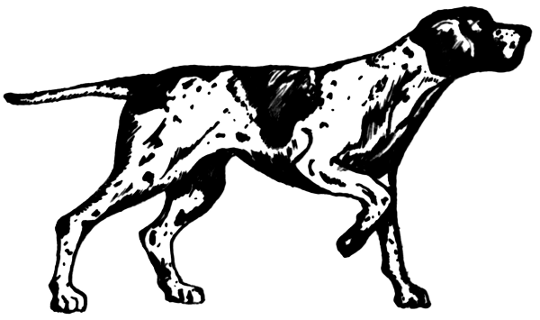 Free Black and White Dog Clipart - Free Black And White PNG Of Dogs