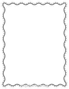 free black wavy border templates including printable border paper and clip art versions file formats