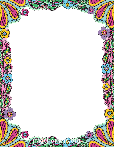 Free Border PNG For Word Transparent Border For Word.PNG ...