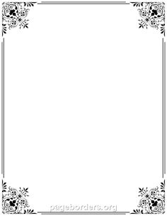 Free Border PNG For Word - 166129