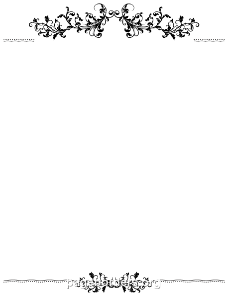 Free Border PNG For Word Transparent Border For Word.PNG Images ...