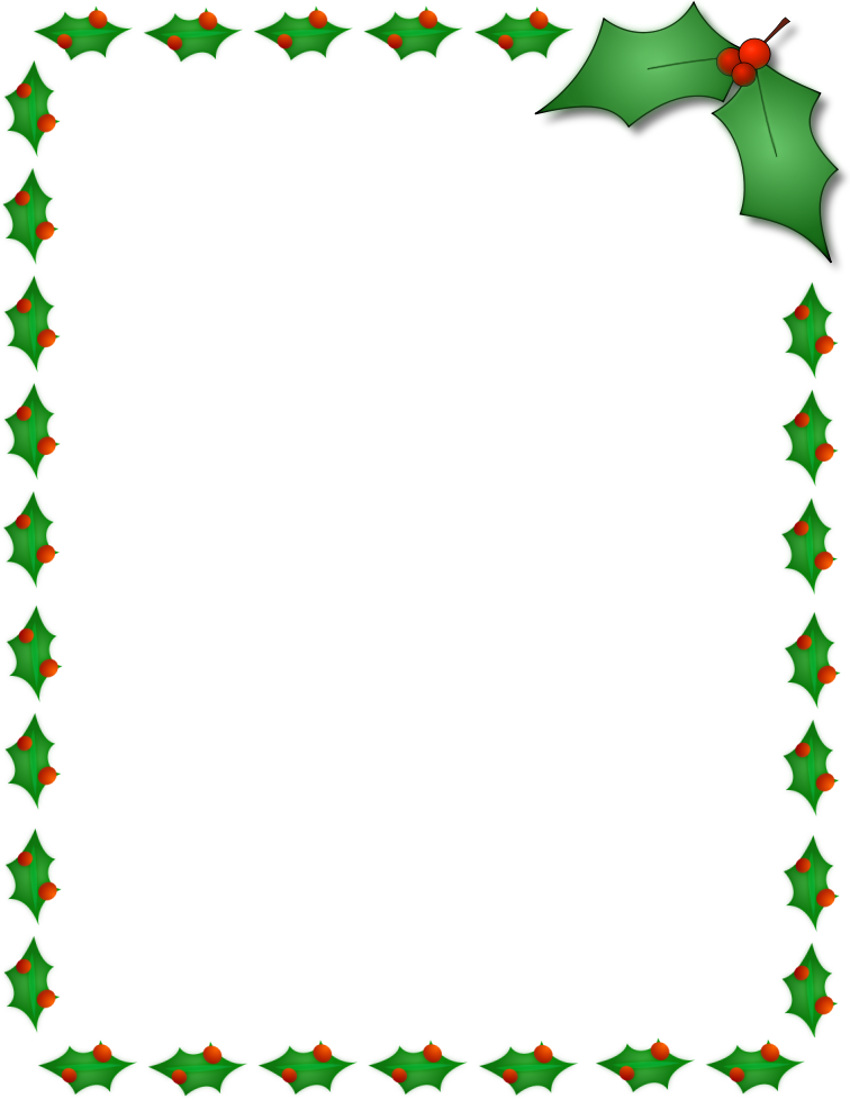 Free Border PNG For Word - 166137