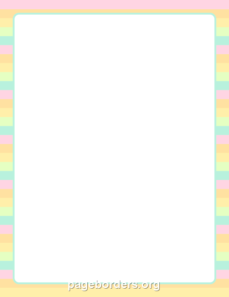 Free Border PNG For Word - 166145