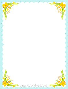 picture regarding Printable Border Paper named No cost Border PNG For Term Clear Border For Term.PNG