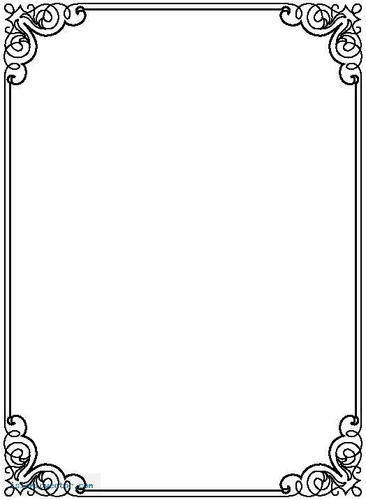 Free Border PNG For Word - 166131