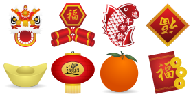 Chinese New Year Icons - Free Chinese New Year PNG HD