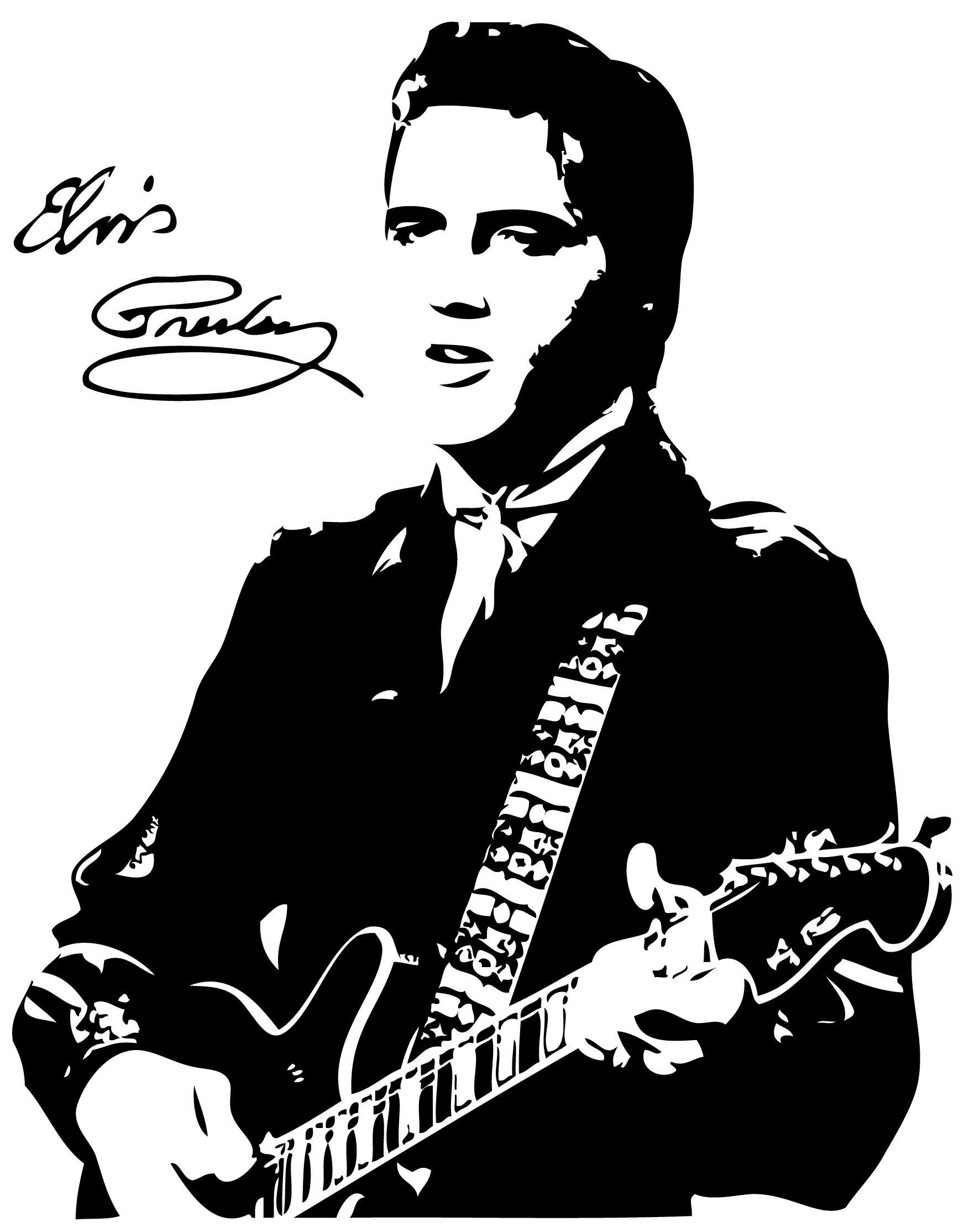 Elvis cliparts - Free Elvis PNG