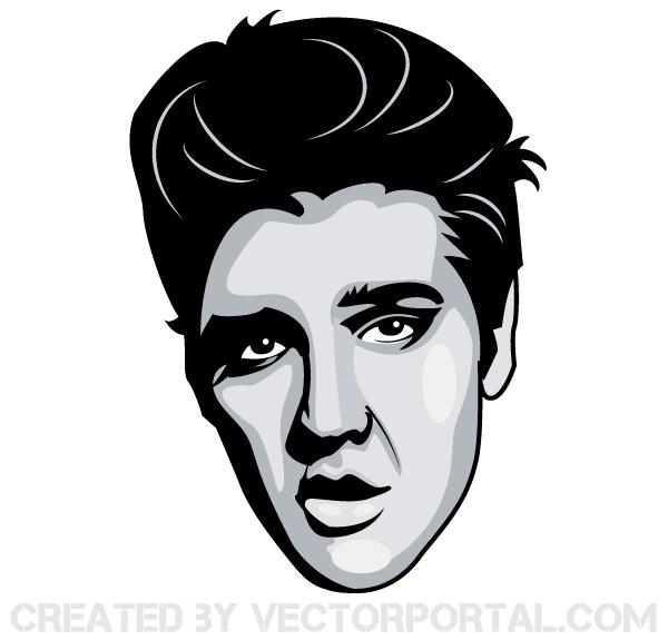 Elvis Presley Image Free Vector - Free Elvis PNG