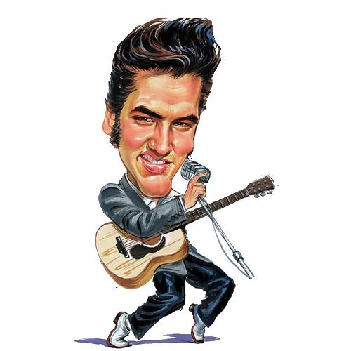 Free Singer Elvis Presley Clipart - Free Elvis PNG