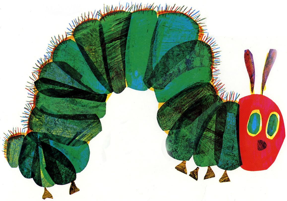 caterpillar - Free Eric Carle PNG