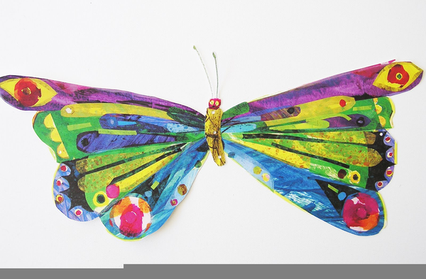 Eric Carle Butterfly | Free Images at Clker pluspng.com - vector clip art online,  royalty free u0026 public domain - Free Eric Carle PNG