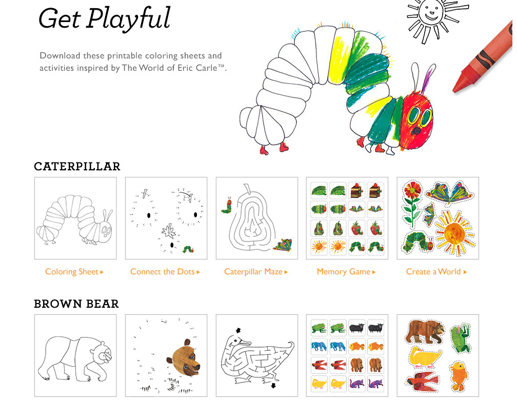 Gymboree Screenshot - Free Eric Carle PNG