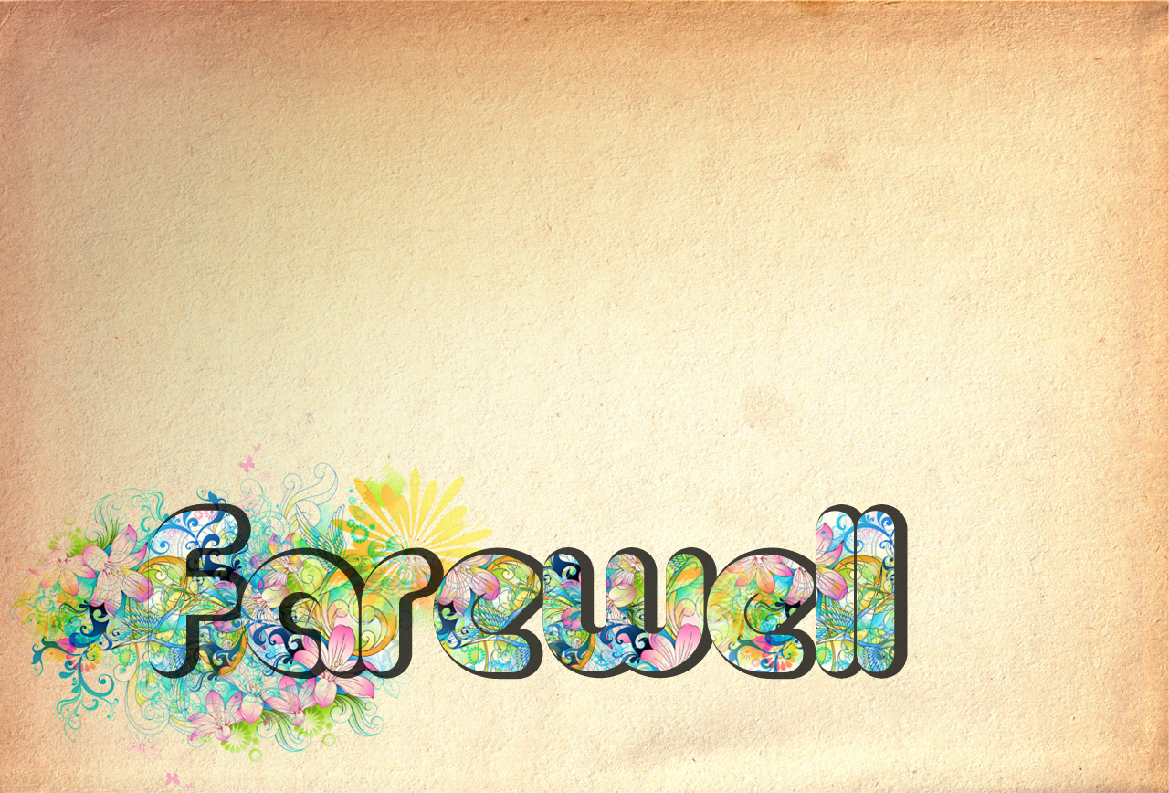 FAREWELL: DU life - Fuccha- Voice of YOUth!Fuccha- Voice of YOUth - Free Goodbye PNG HD