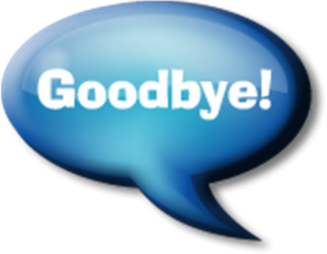 Goodbye - Free Goodbye PNG HD
