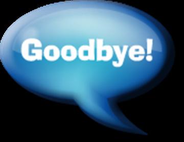 Goodbye - Free Goodbye PNG HD