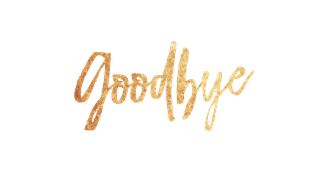 Goodbye PNG transparent - Free Goodbye PNG HD