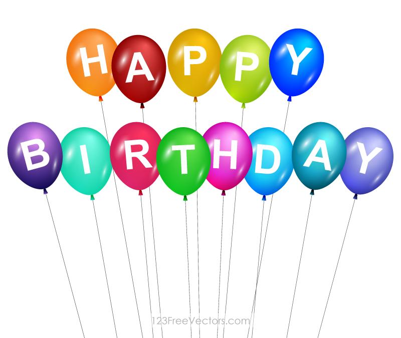 Free Happy Birthday PNG HD Graphics - 138440