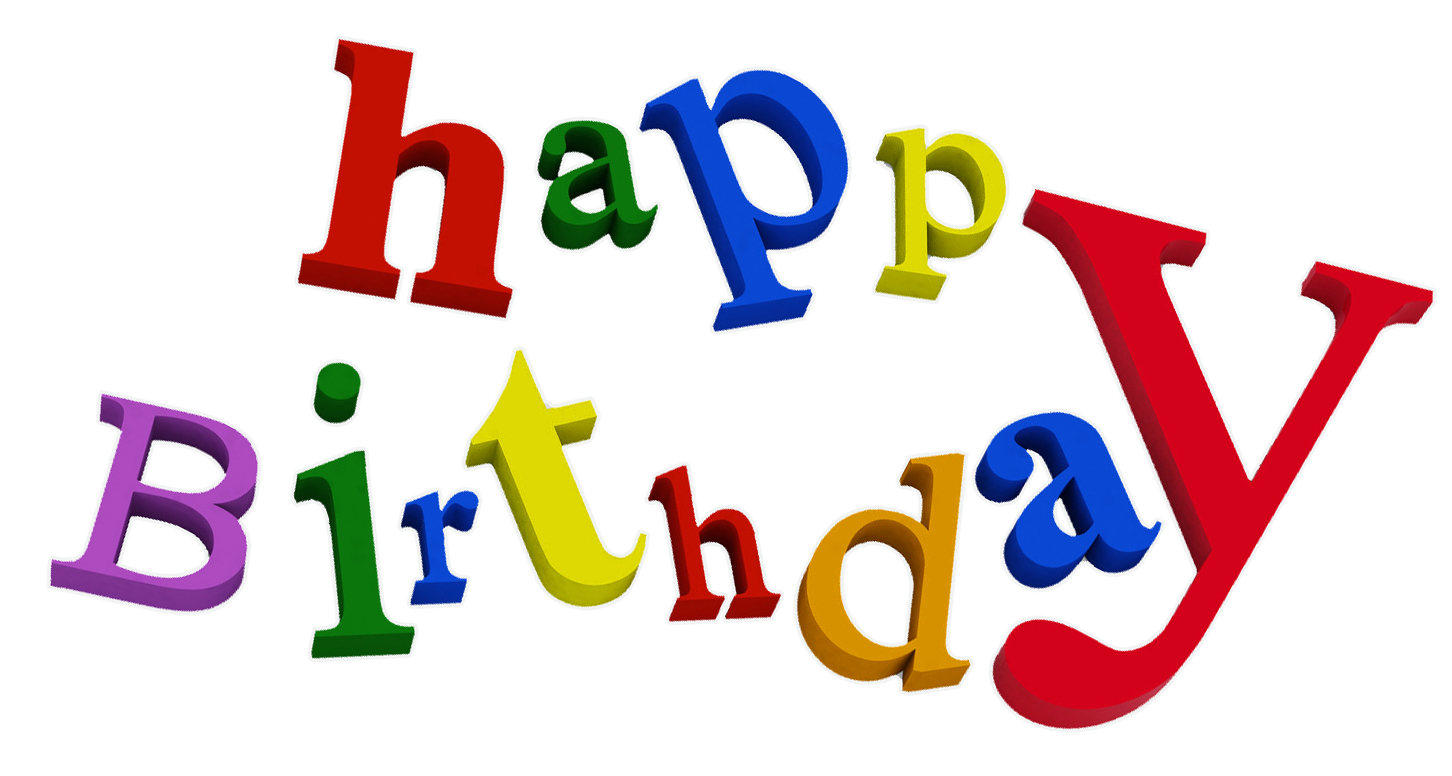 Free Happy Birthday PNG HD Graphics - 138439