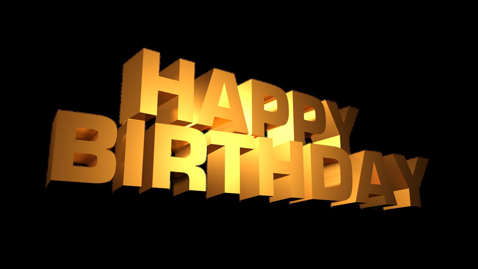 Free Happy Birthday PNG HD Graphics - 138442