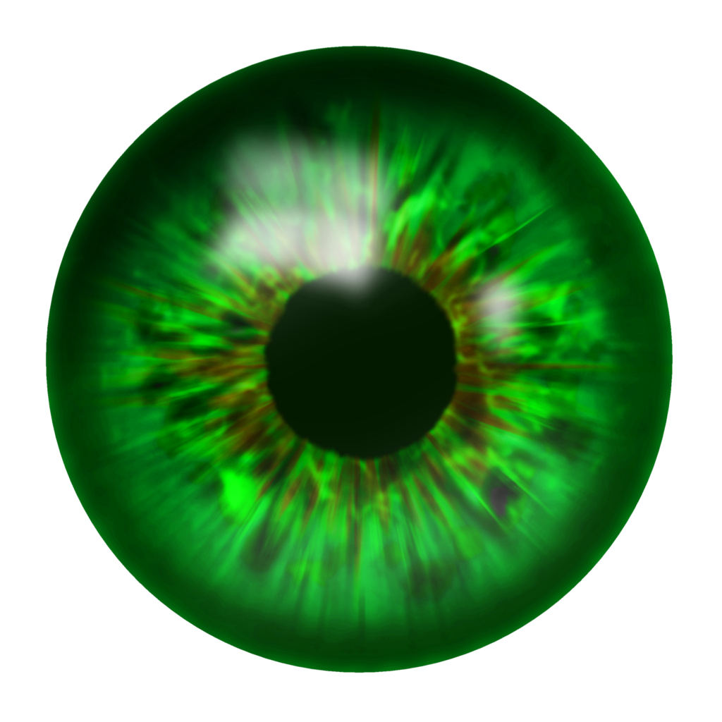 Free Icons Png:Green Eye Png