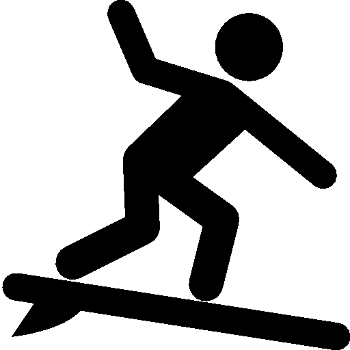 Free Icons Png:Sports Surfing Icon