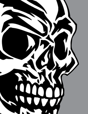 Free Icons Png:Tribal Skull Tattoos Png - Tribal Skull Tattoos PNG