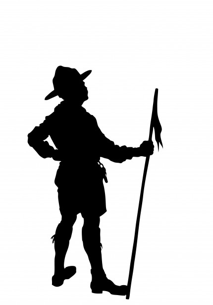 Boy Scout Silhouette Clipart Free Stock Photo - Public Domain Pictures - Free PNG Cub Scouts